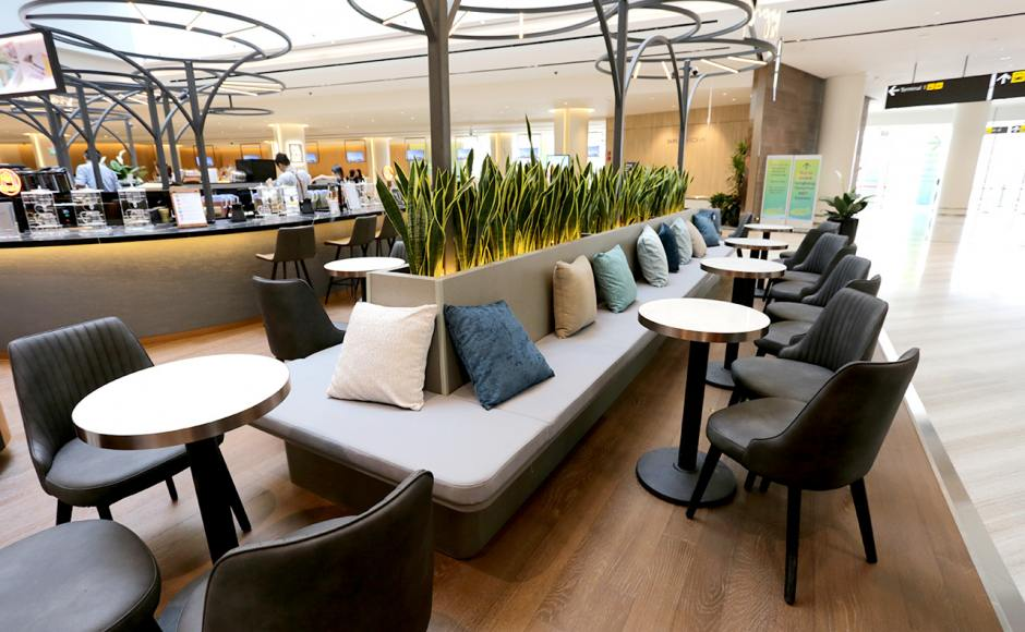 Signature KOI - Jewel Changi Airport | Product Seen: [Omori Side chair]