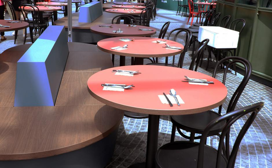 Tanuki Raw - Jewel Changi Airport | Products seen: [Cosson Table Base]
