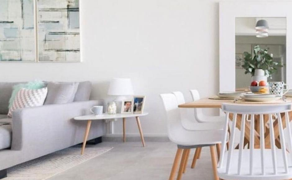 Apartment Project by @styledbypt | Product Seen: [Plug + Round Leg Chair & Choyu Chair]