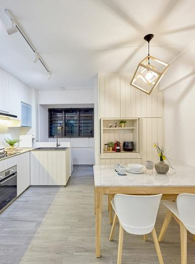 Minimalist Scandinavian - HDB Kitchen