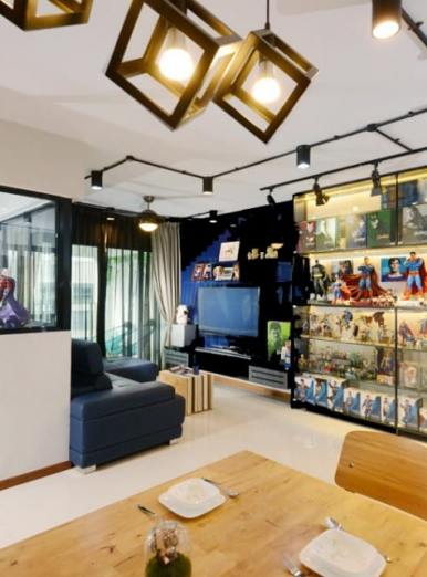 House of Superman & Marvel Heroes By Inspire ID Group