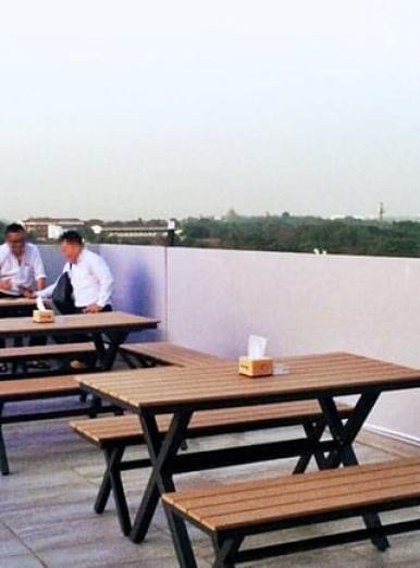 99 Bar Roof top, Hotel Broadway - Yangon, Myanmar