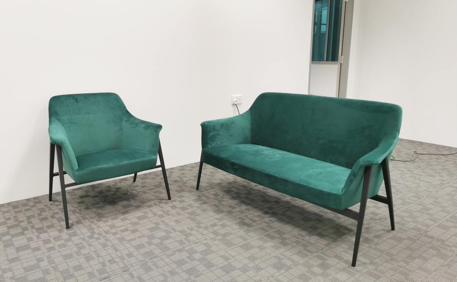 Project at The Strategy Tower | Product Seen: [Teiji 2–Seater Sofa & Teiji 1–Seater Sofa]