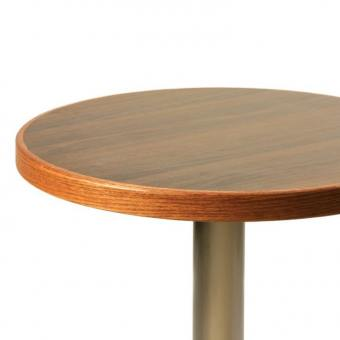 Laminated Tabletop With Timber Edging