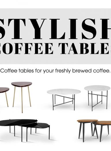Stylish Coffee Tables For Your Perfect Living Space