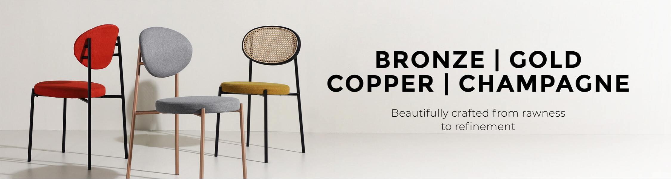 Bronze • Gold • Copper • Champagne