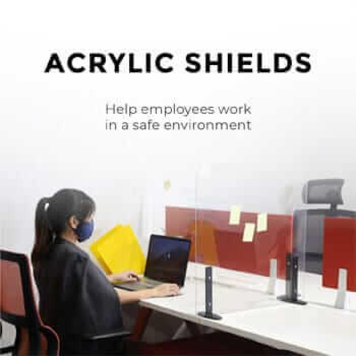 COMFORT ACRYLIC SHIELD & PC GUARD