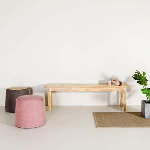 Haru Bench – Wood Seat - W1340