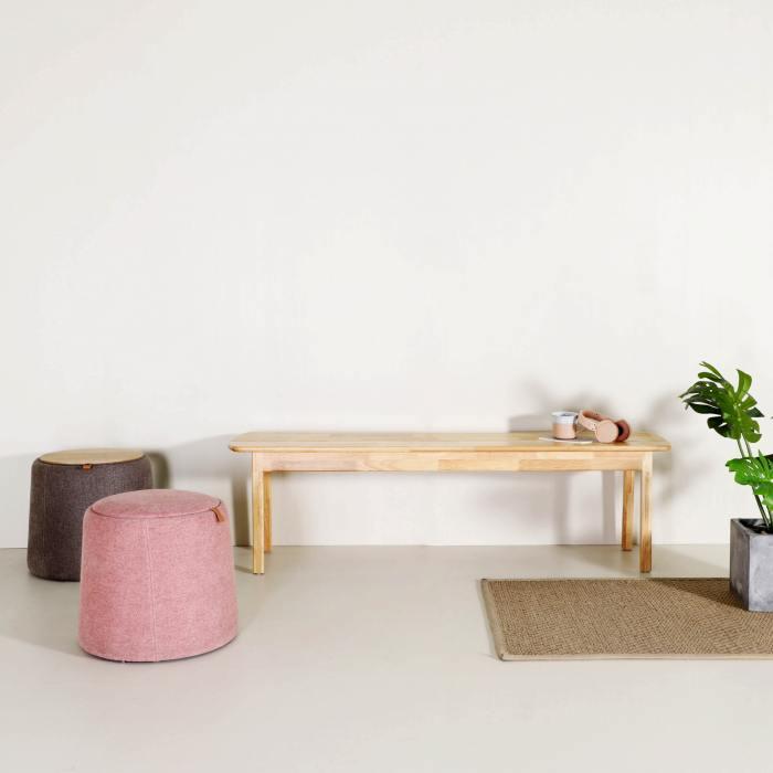 Haru Bench – Wood Seat - W1100