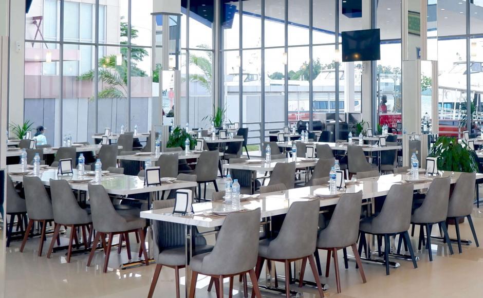 Sederhana Restaurant - Batam, Indonesia | Product Seen: [Omori Side chair]