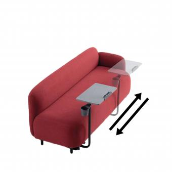 Credo 3-Seater Arm Sofa w/ Tablet