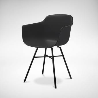 Abang – Steel Arm Chair