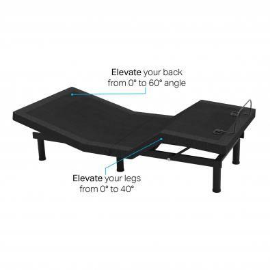 Benita Adjustable Bed Frame – Single