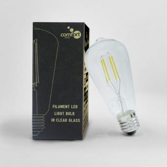 Bulb E27 LED Filament – Teardrop