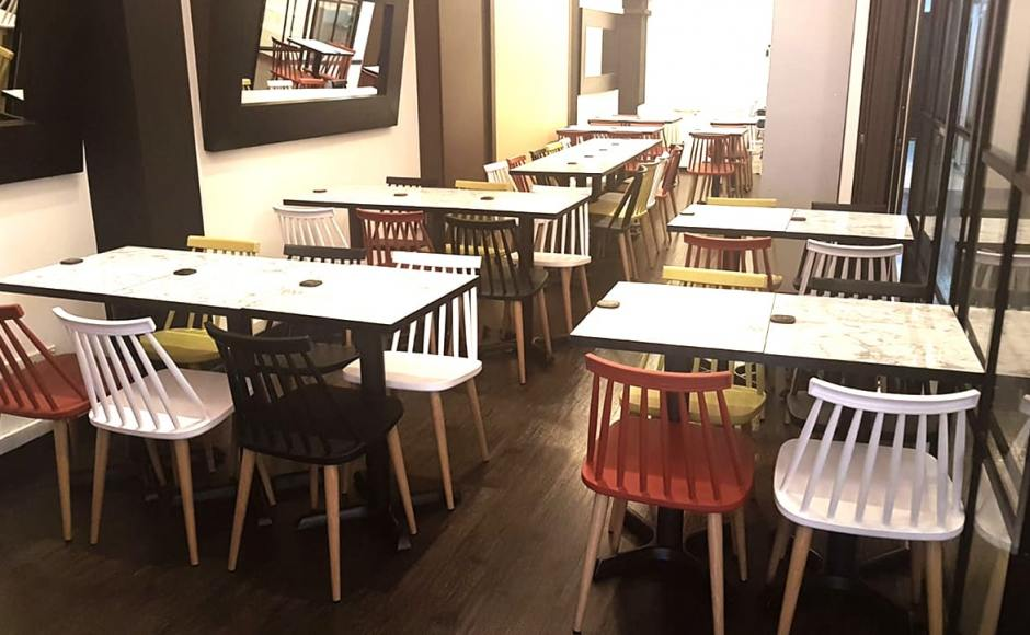Wang Yuan Cafe - Keong Saik | Product Seen: [Choyu Chair]