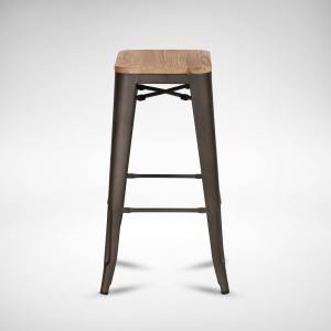 Alex Barstool SH750 – Wood Seat