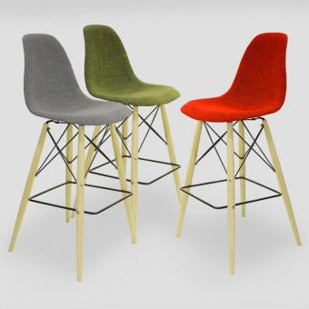 Argo – Half Fabric + Tower Barchair