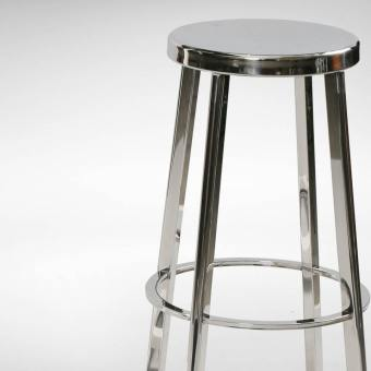Toyo Barstool – Stainless Steel
