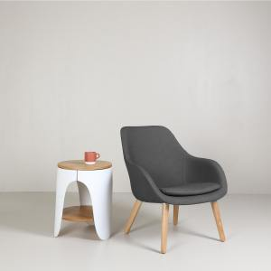 Sacco Wood Leg Lounger