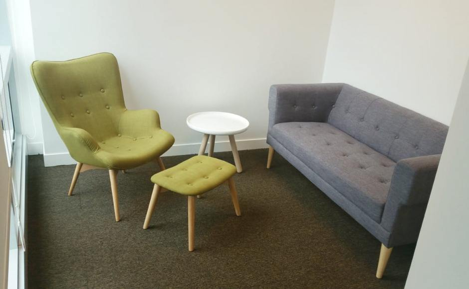 Office - Market Street | Products Seen: [Sonia 2.5 Seater Sofa, Brandy Lounge Set & Lucy Side Table]<br />