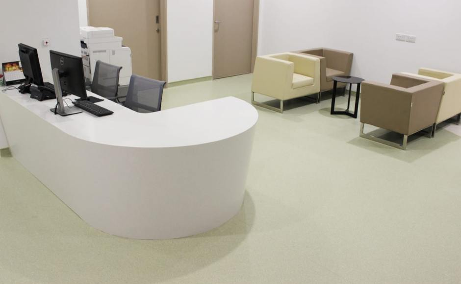 Farrer Park Medical Centre - City Square Mall | Products Seen: [Lola Coffee Table -Small & Ding Dong Modular Sofa]<br />