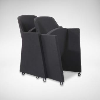 Maiden Castors Lounger / Seminar Chair (Nestable)