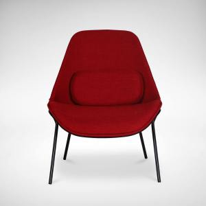 Affable Lounger - Red