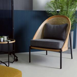 Dale Rattan Lounger