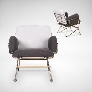 Uta 1 Seater Lounger