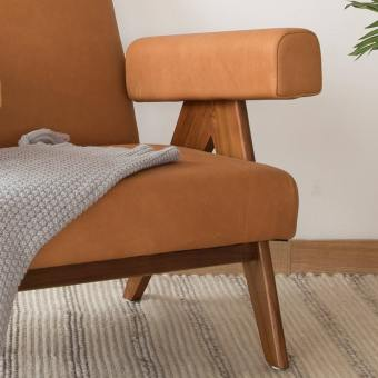 Yoma Lounger - Upholstered