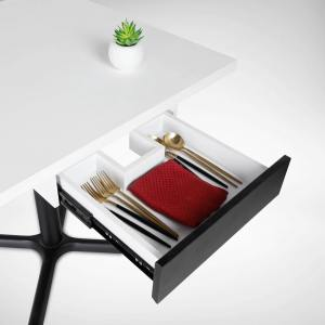 Restaurant table with Cutlery Drawer & Menu Slot