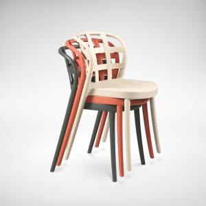Ribbon  Side chair