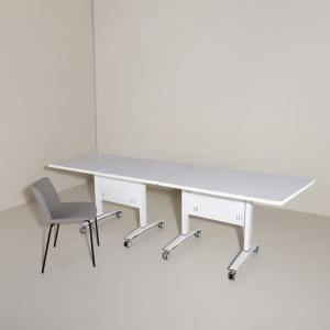 Amos Rect Folding Seminar Table - W1200 (Nestable)