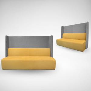 Chaos 3–Seater Sofa – Highback