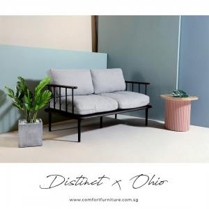 Distinct 2–Seater Sofa