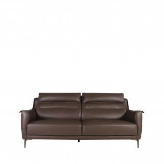 Judi 3-Seater Sofa - Half Leather