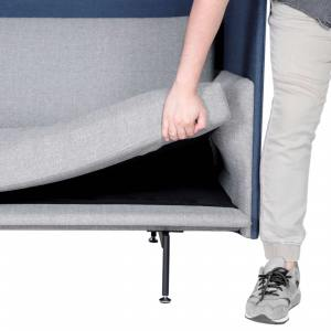 Kinpi 1–Seater Sofa – Highback