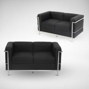 Le Corbusier (replica) 2–Seater Sofa