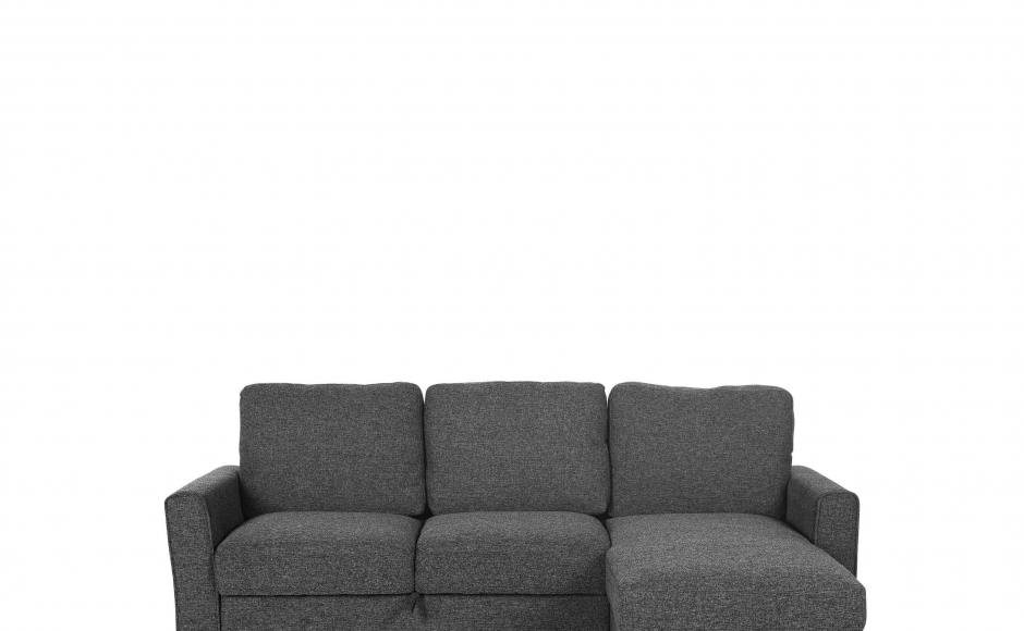 Apartment - Minimalist Scandinavian | Product Seen: [Leonard L-Shaped Sofa / Sofabed / Storage & Stretch Coffee Table]