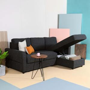 Leonard L-Shaped Sofa / Sofabed / Storage