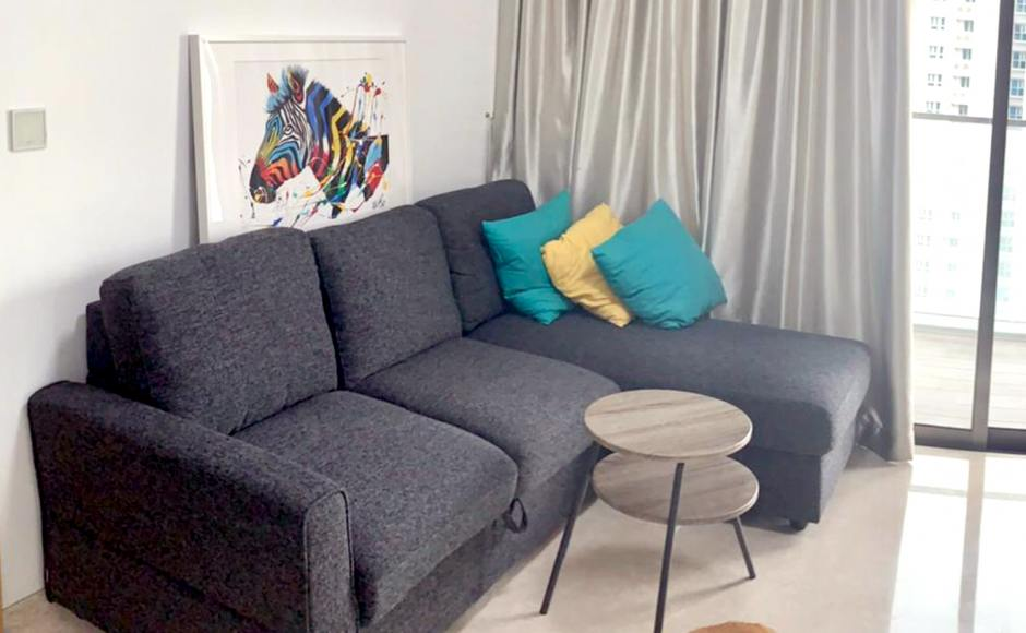 Apartment - DerbyShire  | Product Seen: [Leonard L-Shaped Sofa / Sofabed / Storage]
