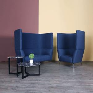 Oat 2–Seater Sofa – Highback