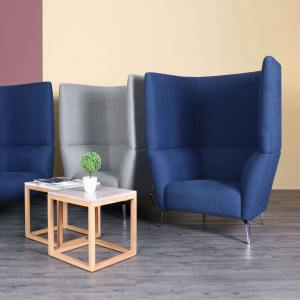 Oat 1–Seater Sofa – Highback