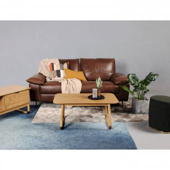 Prado 3 Seater Sofa – Full Leather (Pure Aniline)
