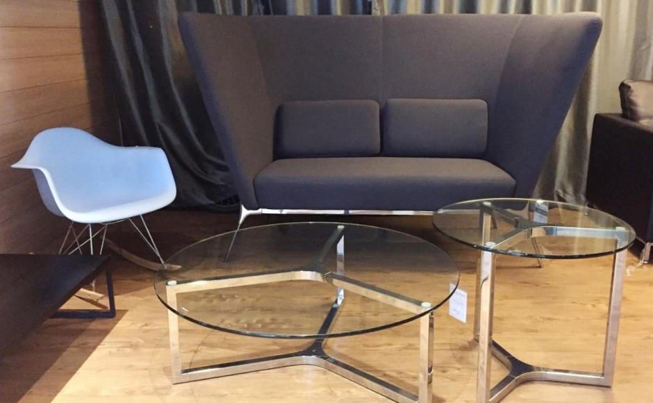 Product(s) seen: [Gum – PP + Rocking Armchair, Private Sofa - Highback, Kravit Coffee Table – Dia1000 &amp; Kravit Coffee Table – Dia600]<br />