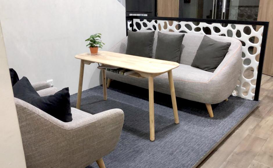 Foundation Alliance - Senang Crescent | Product Seen: [Winsland 3–Seater Sofa & Fygan Coffee Table/Dining Table]
