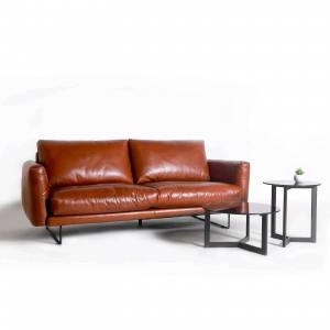 Bambri 3-Seater Sofa - Full Leather (Pure-Aniline) - Cat 18