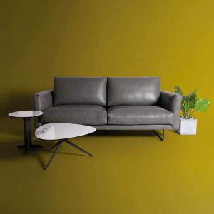 Bambri 3-Seater Sofa - Full Leather (Semi-Aniline) - Cat 13