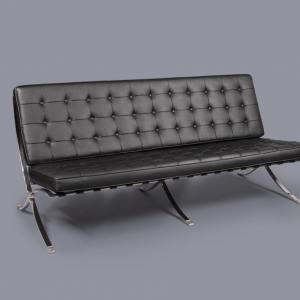 Barcelona (replica) 3–Seater Sofa