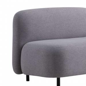 Credo 2-Seater Armless Sofa